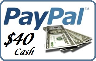 $40 PayPal Cash Giveaway! (06/11/2015) – Top Coupons 24